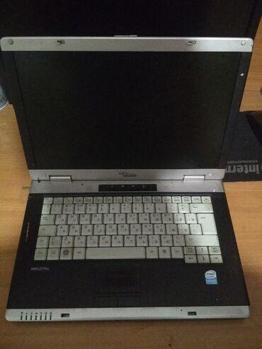 Fujitsu - Кыргызстан: Продаю на запчасти. ноутбук 2006 года. не работает подсветка дисплея
