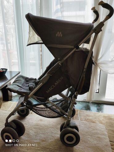 Παιδικά αντικείμενα - Ελλαδα: Πωλείται καρότσι McLaren σε άριστη κατάσταση. Χρώμα ουδέτερο. Μπορεί