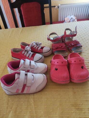 Dečija odeća i obuća - Lajkovac: Decija obuca. Patike i papucice br. 26,a sandale br. 29.Sve zajedno