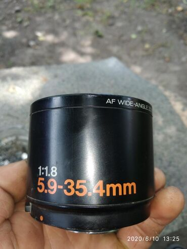 bosch dmf 10 zoom professional в Кыргызстан: Af wide angle zoom lens.5.9-35.4mm1:1.8