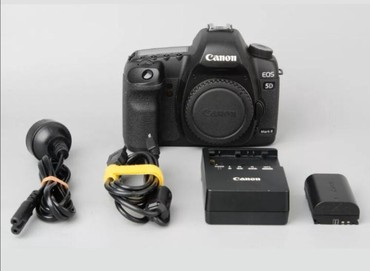 canon 5d mark в Азербайджан: Canon eos 5D mark 2 probeg 13k ideal vəziyyətdə. Nömrəye zəng catmasa