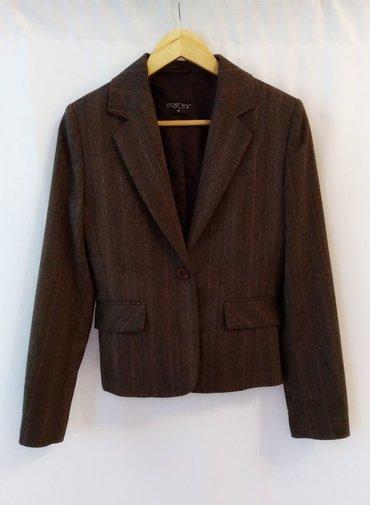 Натуральный пиджак, в отличном состоянии, часть костюма, размер 42 в Бишкек