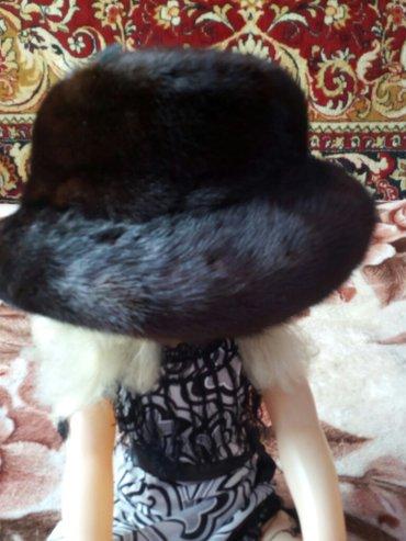 Женская одежда в Шопоков: Шапка норка,состояние идеал