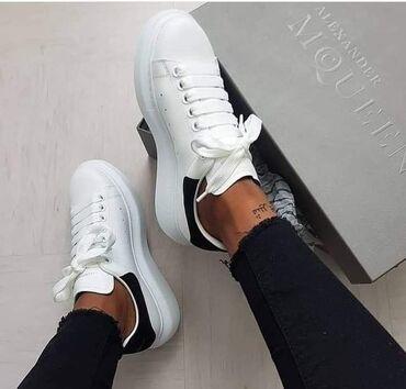 Ženska patike i atletske cipele | Vladicin Han: Bele Alexander Mcqueen patikice Dostupni brojevi 41 2200 din