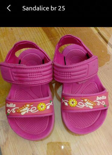 Dečija odeća i obuća - Indija: Sandale br.25