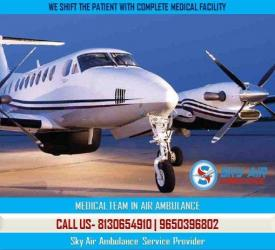 Take Air Ambulance in Brahmpur with Professional Medical Team in Kathmandu