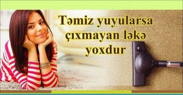 Bakı şəhərində Temizleme xidmeti