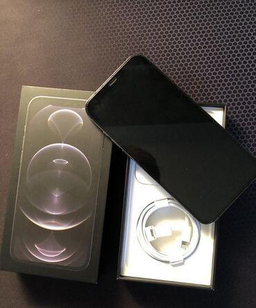 Apple Iphone - Бишкек: Новый iPhone 12 Pro Max 256 ГБ Черный