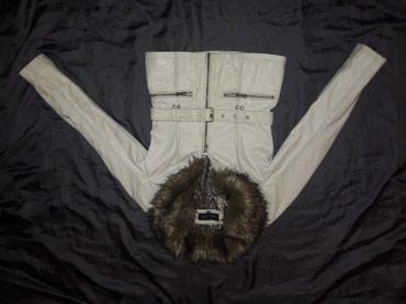 Kozna jakna sa krznom vel. XS - Prokuplje