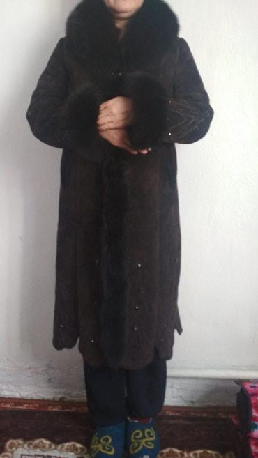 Продаю дубленку,темно-коричневого в Бишкек