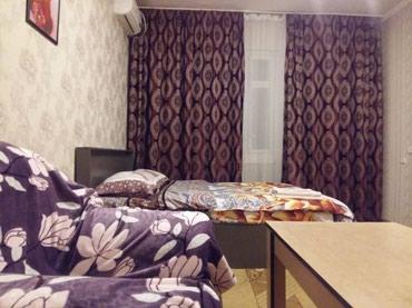 1ком квартира чистая аккуратная. посуточно.есть всё. в Бишкек
