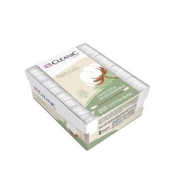 Ватные палочки Cleanic Naturals 200 шт. (коробка)Палочки ватные с