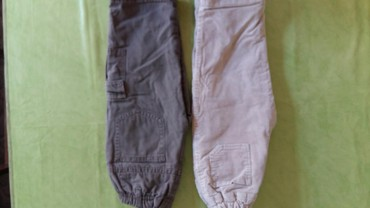 Pantalone size - Srbija: Termo pantalone za decake vel. 2 god.polovne,ocuvane,oba para za