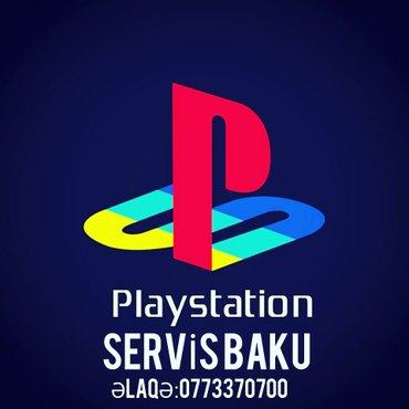 Bakı şəhərində Playstation Sevis