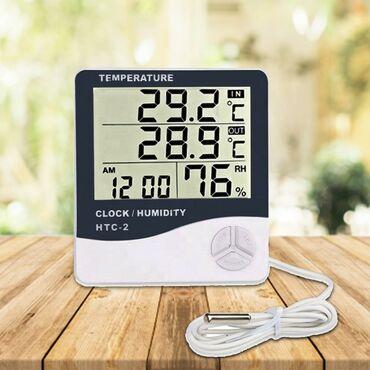 Termometr  Termometr və nəmişlik ölçən  Model : HTC-2