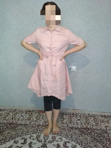 Платье рубашка новая, размер 44-46. Есть варианты на обмен  в Кок-Ой