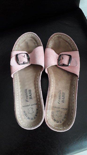 Fratelli BABB kožne papuče br 37 za 300 din