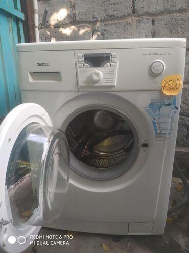 б у стиральная в Кыргызстан: Фронтальная Автоматическая Стиральная Машина Atlant 5 кг