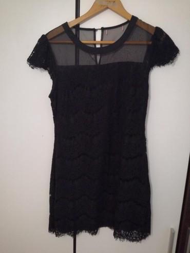 Crna kratka haljina. - Petrovac na Mlavi