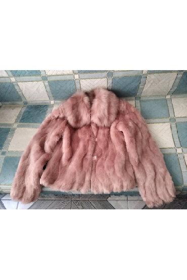 шубу и полушубок в Кыргызстан: Продаю полушубок (бу), искусственный мех, размер 44 (для взрослых, не