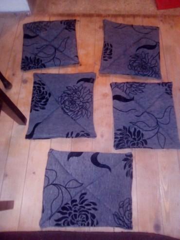 Ostalo za kuću | Varvarin: Podmetaci za stolice sivo Crni