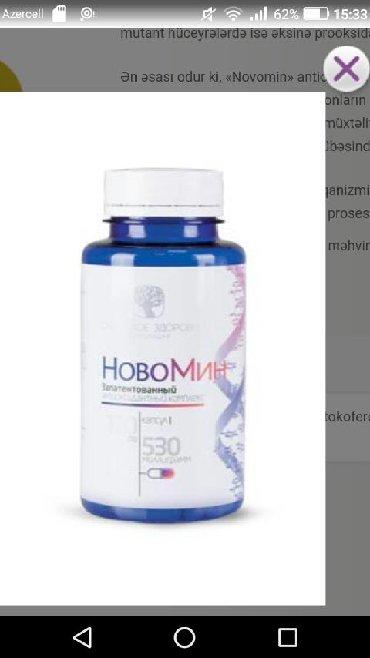 18.1manNovominNovomin# 500020  120 kapsul Patentli antioksidant