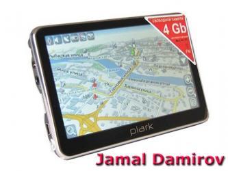 Bakı şəhərində GPS-navigator 5.  GPS-навигатор 5.