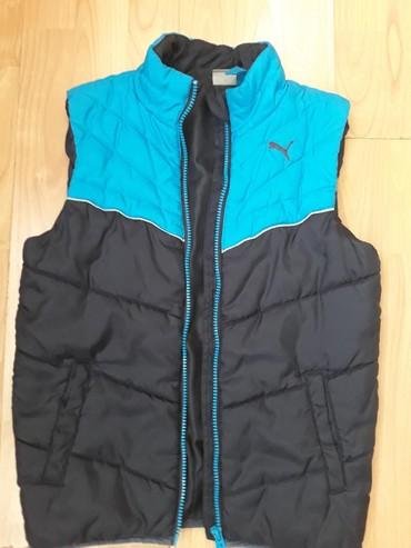 Dečije jakne i kaputi | Uzice: Prelep PUMA prsluk,finog materijala velicina 140cm ili br.10