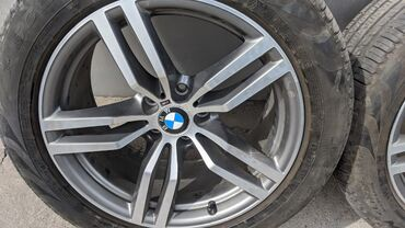 Диски BMW X6 5 дырчатые, оригинал. 19 дюймов. В отличном состоянии