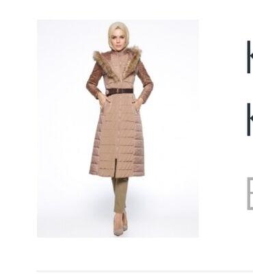 жен пальто в Кыргызстан: Пальто женское с капюшоном размер на 36-38, сидит шикарно, подчеркивае