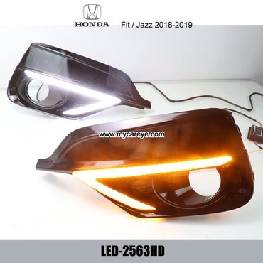 Honda Jazz Fit DRL LED Daytime Running Light led driving lights in Tīkapur