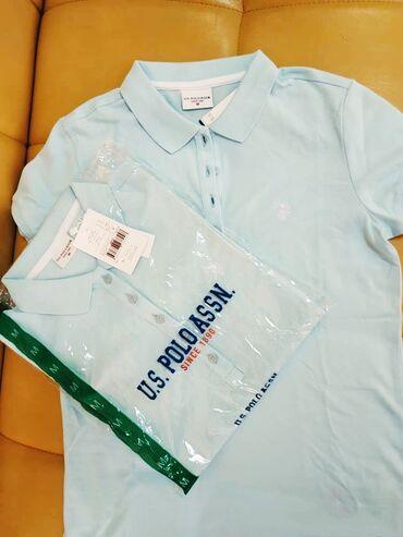 shikarnoe-vechernee-plate-v-pol в Кыргызстан: Новые женские качественые футболки от US Polo Assn. Производство Турци
