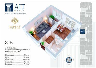 Продается квартира: Шлагбаум, 1 комната, 35 кв. м
