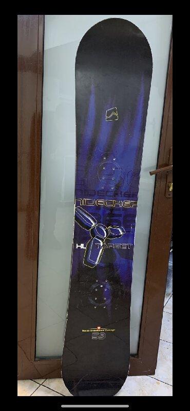 snoubord zhenskij в Кыргызстан: Продаю сноуборд . Состояние отличное . Фирменный . В меру жесткий