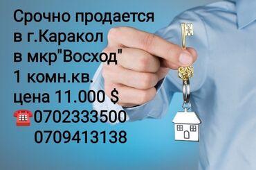 Недвижимость - Каракол: 105 серия, 1 комната, 42 кв. м Бронированные двери