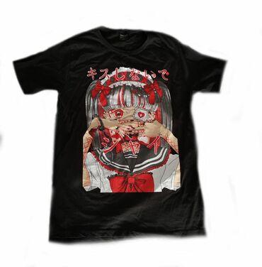 принт на футболку бишкек in Кыргызстан | ТОПЫ И РУБАШКИ: Продаю футболку, состояние отличное. Размер XL