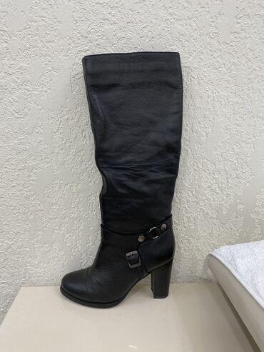 Продаю кожаные зимние сапоги фирмы SOPEIA ЕВРОмех. Надевала всего 3