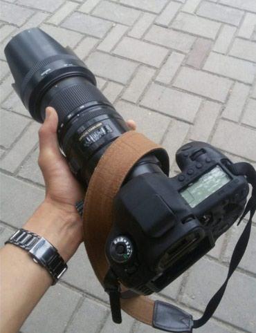 Sigma 70-200mm f/2.8 OS HSM CANON, состояние СРЕДНИЙ торг в Бишкек