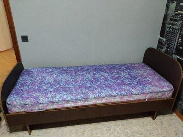 Продаю кровать с матрасом в отличном состоянии!   в Бишкек