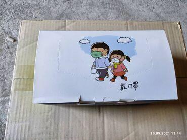 Детские маски медицинские трехслойные.Китай.В зависимости от