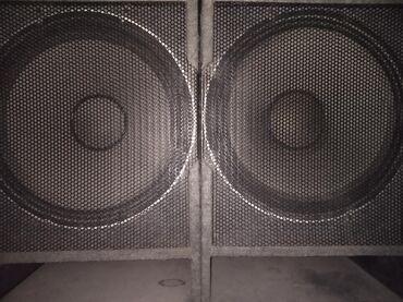 музыкальные центры в Кыргызстан: Колонки продаю 18 ка в хорошем состоянии 2 кВт цена: 22 000с