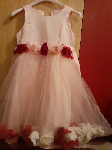 Детский мир - Сокулук: Нежно розовое платьеДля роскошных принцесс Размер:4 3 годаРазмер 28