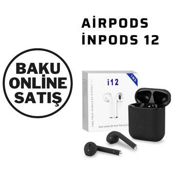 "телефон раскладушка флай ezzy trendy в Азербайджан: Airpods "" İnpods 12""i12 Simsiz QulaqlıqAndroid və IOS"