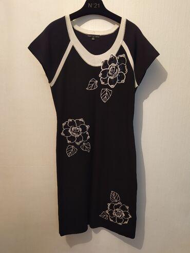 платья рубашки оверсайз в Кыргызстан: Трикотажное платье  Новое  Оверсайз   2Xl