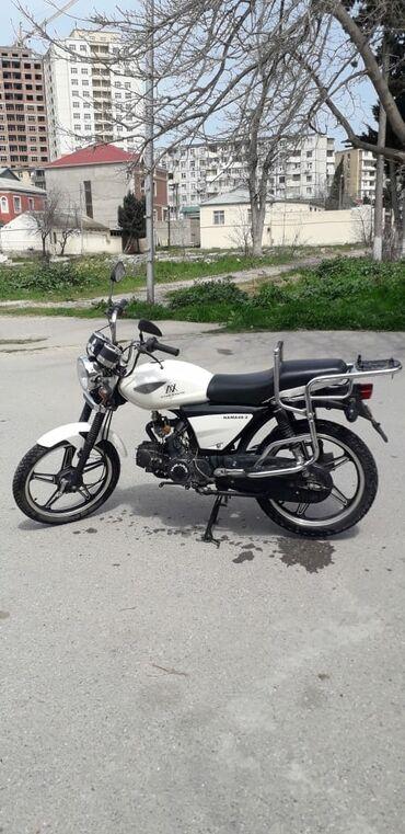 Motosiklet və mopedlər - Azərbaycan: Az ishlenib mopet di motosklet kimidir ucuz satiram