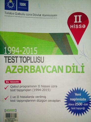 Azerbaycan Dili Test Toplusu Pdf