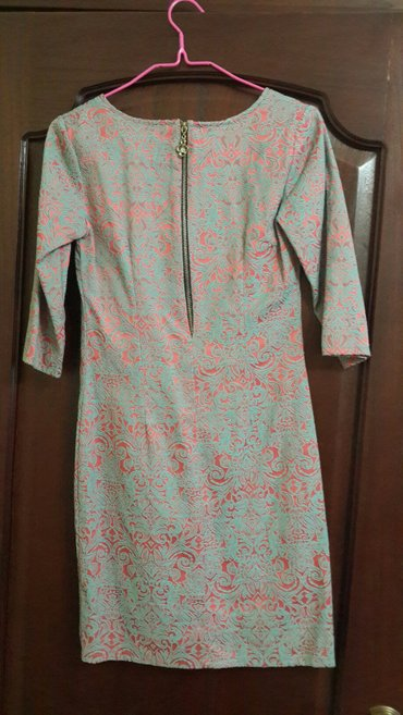 Платье-футляр из турецкого жаккарда, в Бишкек