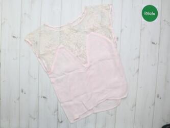 Женская блуза с декором кружево      Длина: 57 см Пог: 43 см Состояние