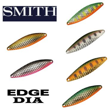 Блесны Smith Edge DiaВес 5 гр. ; 6,5 грРыбалка на такого