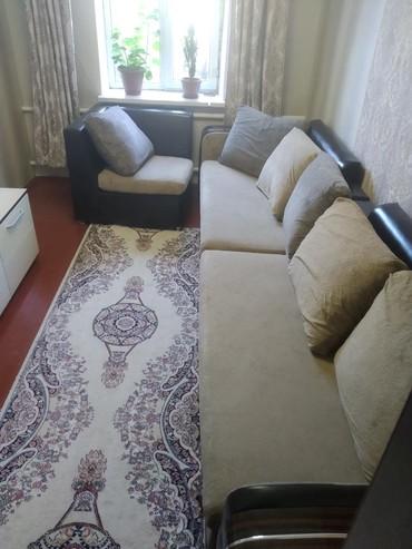 Продаю диван в хорошем состоянии сколов, царапин, порезов не имеется в Бишкек